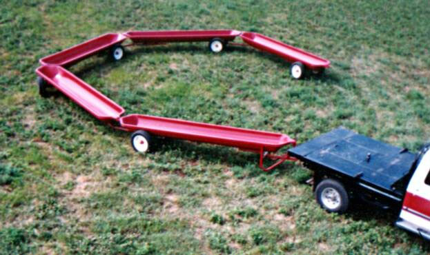 Feed Train | 14 Foot Mobile Feed Bunk
